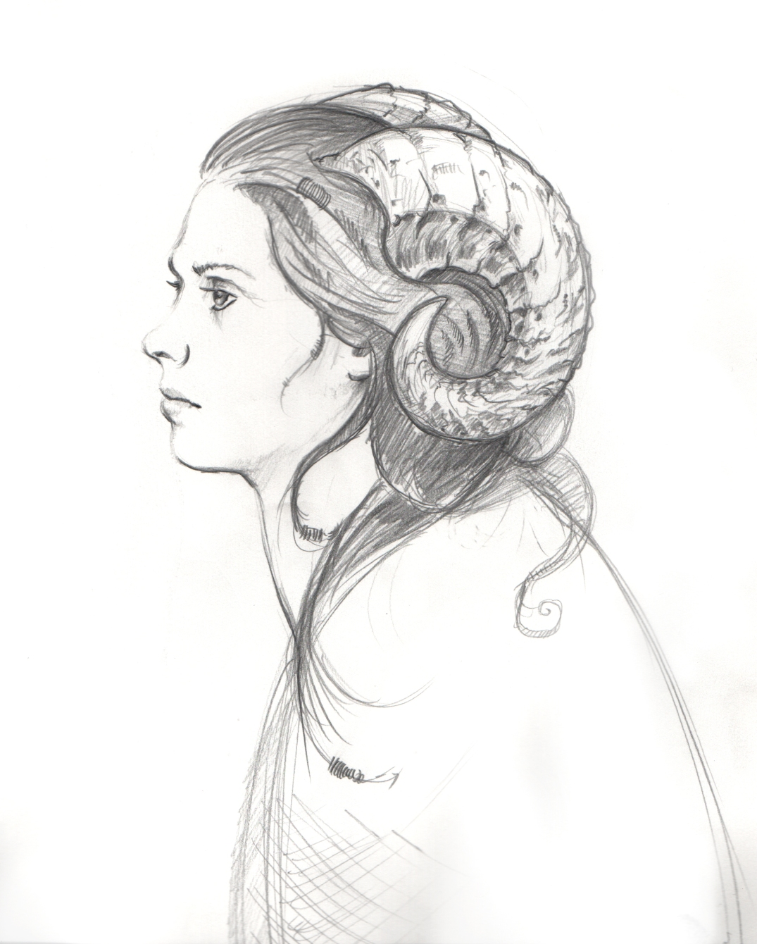 Sketch_Woman_Horns_Rey