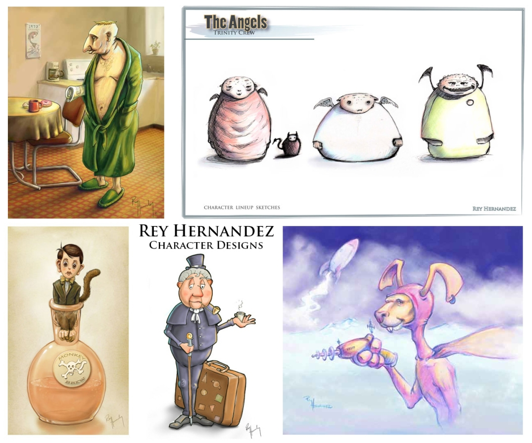 Whimsical Characters