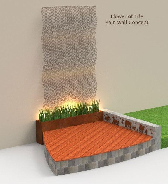 Flower_Of_life_Rain_Wall