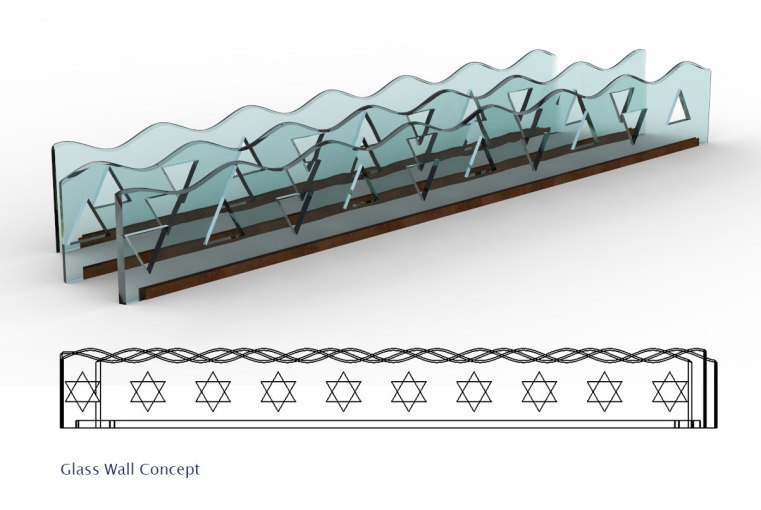Glass_wall_with_star_of_David