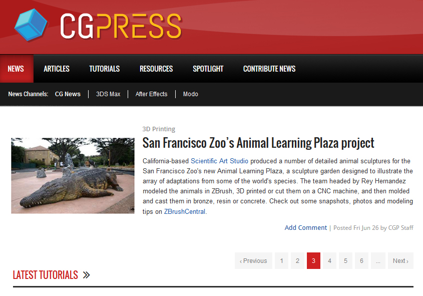 On CGPRESS news!