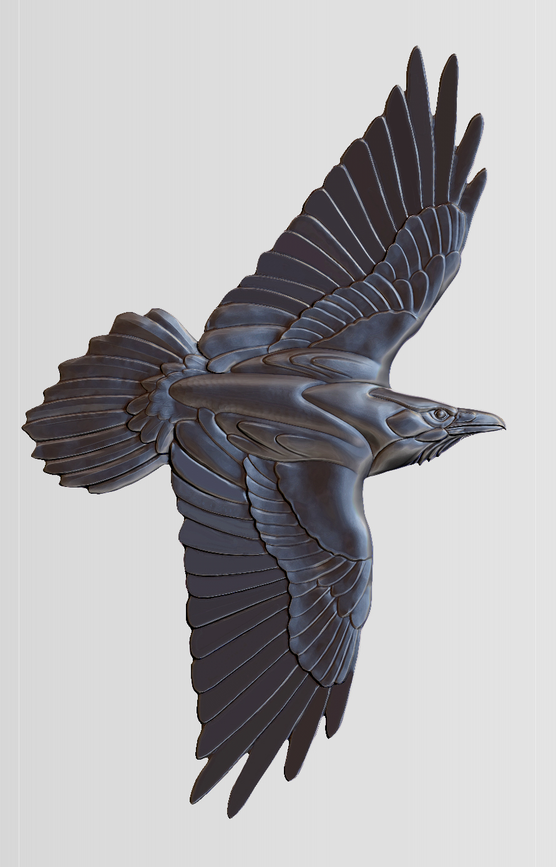 Raven_Zbrush