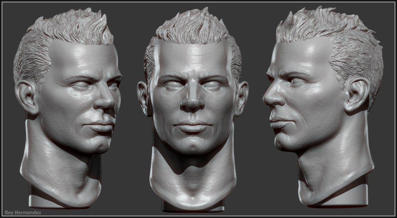 Rey_Hernandez_Custom_Toy_Design_Quarter_Scale_Bust_Action_Figure