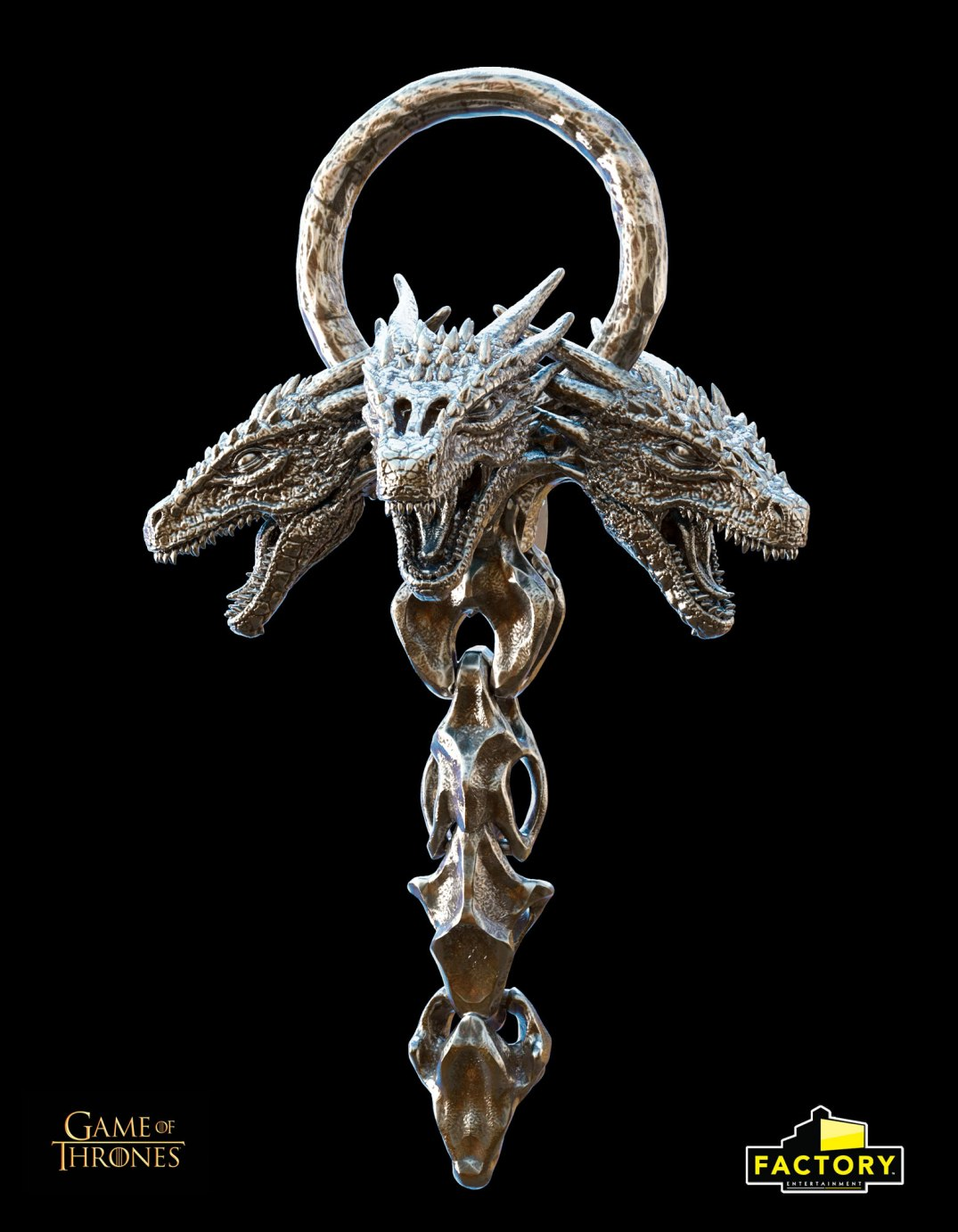 Daenerys Targaryen winter coat dragon broach replica Rey Hernandez